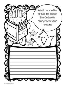 Cinderella Story Activity Freebie