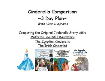 Cinderella Story Comparison with 3 other stories