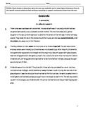Cinderella Story Comprehension Test