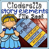 Cinderella Story Elements Flip Book Differentiated