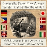 Cinderella Tales from Around the World: A Research & Analysis Multicultural Unit