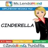 Reading Street, CINDERELLA Teacher Pack, by Ms. Lendahand:)