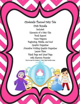 Cinderella Themed Fairy Tale Unit Bundle