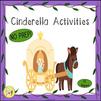 Cinderella Fairy Tale Worksheets Activities Games Printables and More