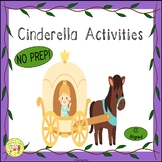 Cinderella Fairy Tale Worksheets Activities Games Printabl