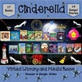 Cinderella Virtual Library & Media Room - SEESAW & Google Slides
