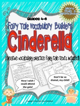 Cinderella Vocabulary Builders Grades 4-6