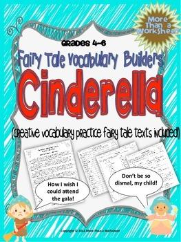 Cinderella Vocabulary Builders Grades 4-6