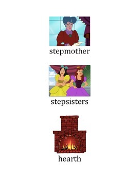 Cinderella Vocabulary with Pictures