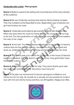 Cinderella With A Twist Theater Script For 11 Roles