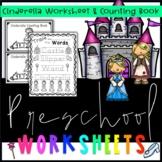 Cinderella Worksheets + Counting Book