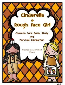 Cinderella and The Rough Face Girl Story Pack