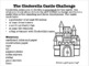 """""""STEM, Cinderella and a House"""":A Structural & Mechanical Engineering Exploration"""