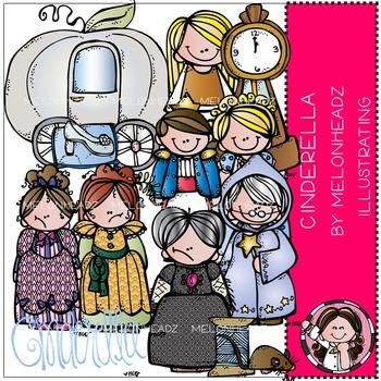 Melonheadz: Cinderella clip art