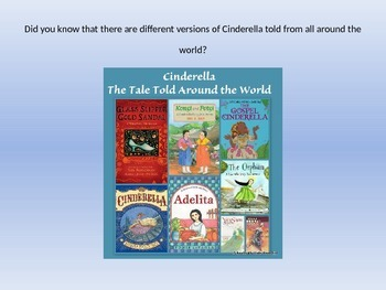 Cinderella by Marcia Brown - Vocabulary PPT