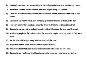 Complex Sentences : Cinderella is a Complex Person