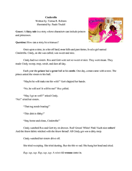 Cinderella (typed story)