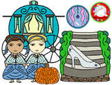 Cindy Fairy Tale Clipart Set (Personal & Commercial Use)