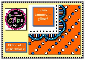 Cindy Frame and Paper Collection - Clip Art