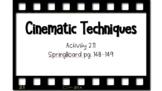 Cinematic Techniques PPT