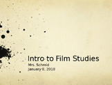 Cinematography Introduction PowerPoint