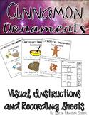Cinnamon Ornaments Visual Recipe- A Christmas Acitivity