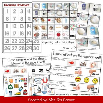 Cinnamon Ornaments Visual Recipe | Cinnamon Salt Dough Ornament