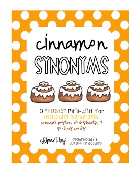 "Cinnamon ""Synonyms"":  A Mini Unit"