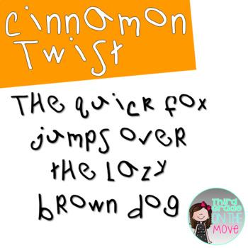 Cinnamon Twist Font