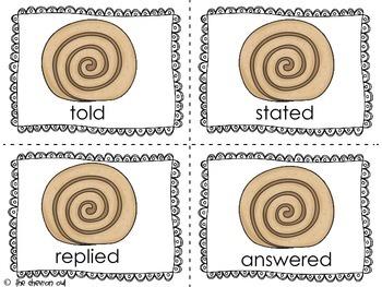 Cinnamon or Synonym?  Synonym practice with a sweet twist!