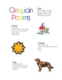Cinquain Poem Format and Examples