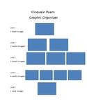 Cinquain Poem Graphic Organizer