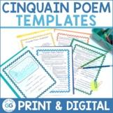 Cinquain Poem Template Pack | Cinquain Activities | Print