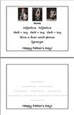 Cinquain Poem Templates - Mother's Day, Father's Day, Cele