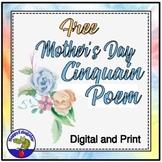 Mother's Day Free Cinquain Poem
