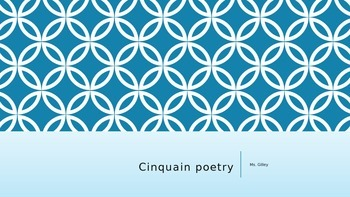 Cinquain Poetry