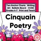 Writing A Cinquain Poem CCSS Grades 4-7
