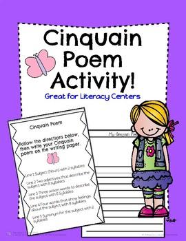 Cinquain Poetry Activity!