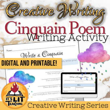 Cinquain Poetry for High School Creative Writing