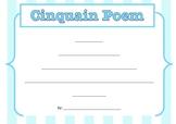 Cinquain poem - poetry