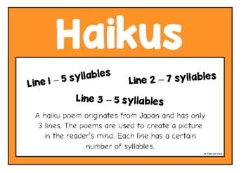 Cinquains and Haikus