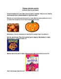 Cinque Piccole Zucche - Five Little Pumpkins in Italian