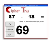 Cipher This  Math Flash Cards
