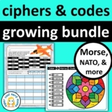 Ciphers and Codes Growing Bundle