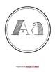 Circle ABC Word Wall Headers