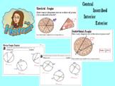 Circle Angles Basics Handout/Worksheet