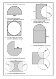 Circle Area and Perimeter Problems