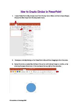 Circle Art from Math Formulas - A Pi Day Activity