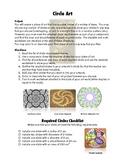 Circle Art (using radius, diameter, area, circumference)