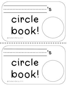 Circle Book FREEBIE